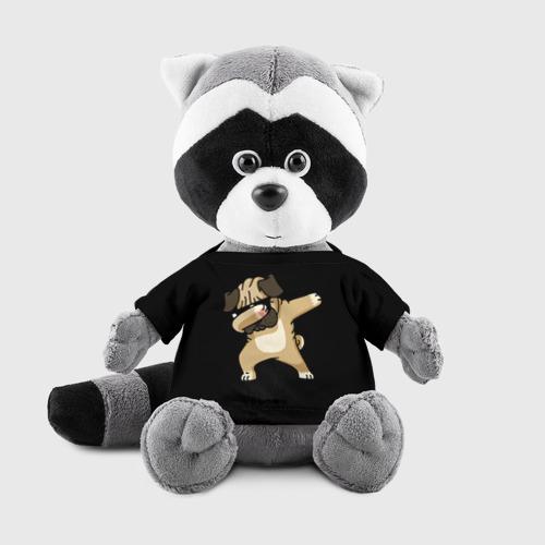 Енотик в футболке 3D Dog dab Фото 01