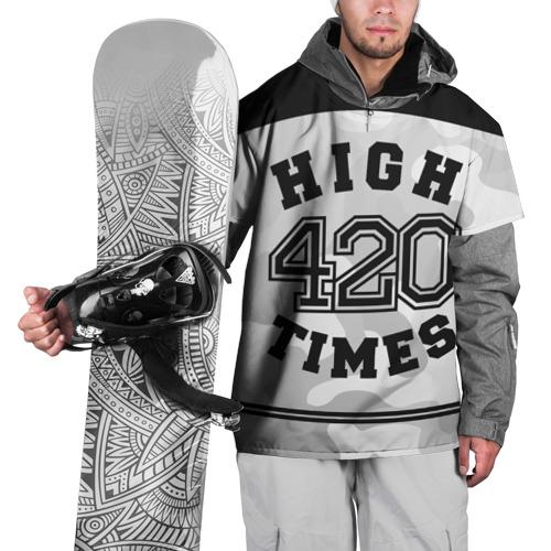Накидка на куртку 3D  Фото 01, High Times 420 Camo