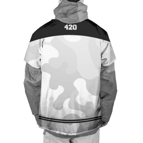 Накидка на куртку 3D  Фото 02, High Times 420 Camo