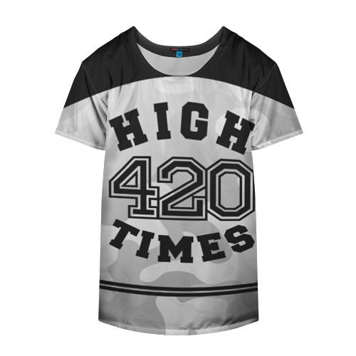 Накидка на куртку 3D  Фото 04, High Times 420 Camo