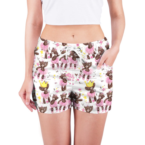 Женские шорты 3D  Фото 03, Плюшевые мишки