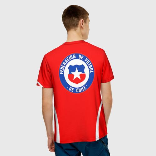 Мужская футболка 3D  Фото 02, Chile