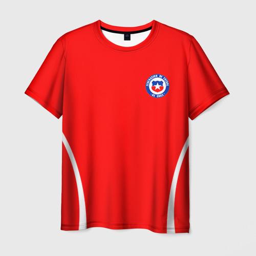 Мужская футболка 3D  Фото 03, Chile