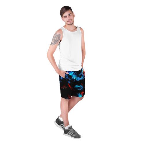 Мужские шорты 3D  Фото 03, Жидкие краски