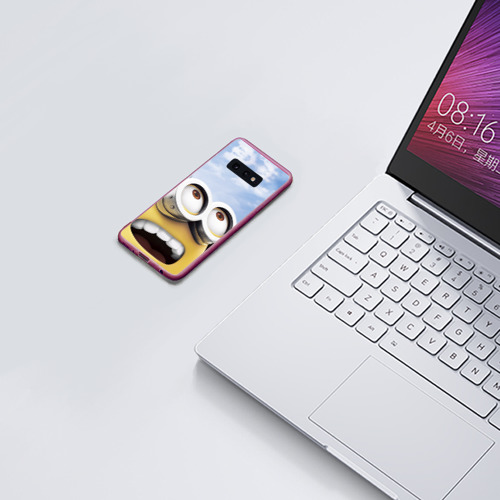 Чехол для Samsung S10E Миньоны Фото 01