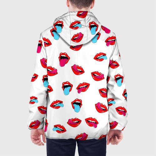 Мужская куртка 3D  Фото 05, Игривые губы