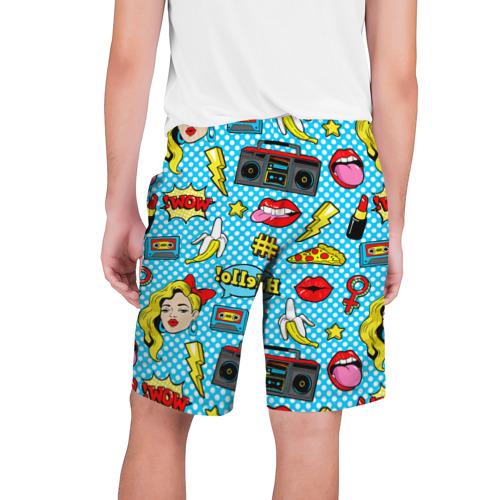 Мужские шорты 3D  Фото 02, Девочка из комикса