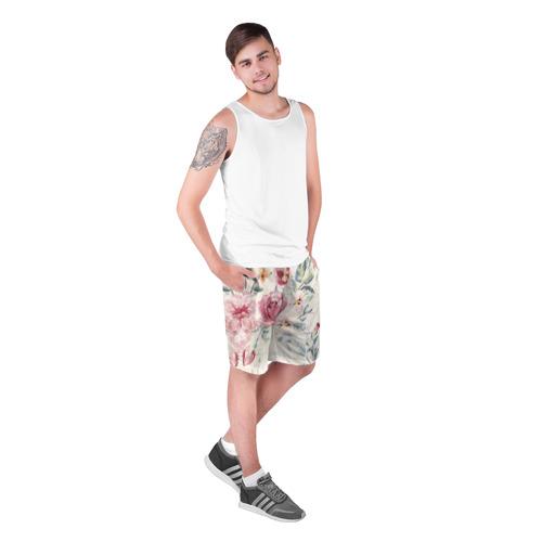 Мужские шорты 3D  Фото 03, Vintage Flovers