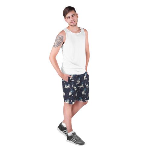 Мужские шорты 3D  Фото 03, Космокотики
