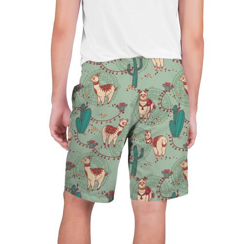 Мужские шорты 3D  Фото 02, Альпаки