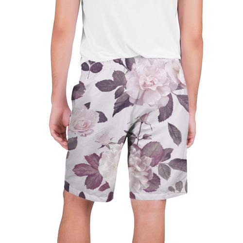 Мужские шорты 3D  Фото 02, Розы