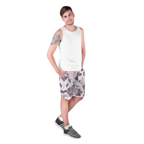 Мужские шорты 3D  Фото 03, Розы