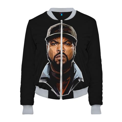 Женский бомбер 3D Ice Cube 1