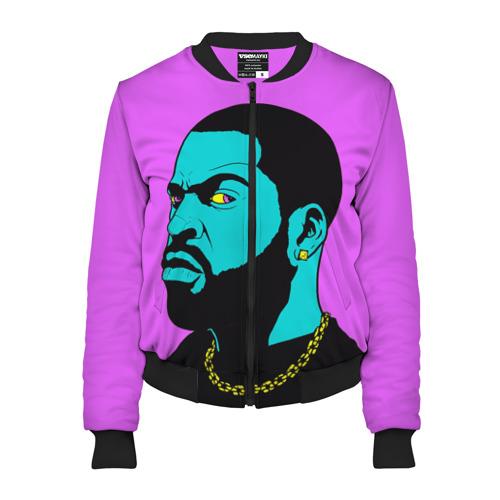 Женский бомбер 3D Ice Cube 3