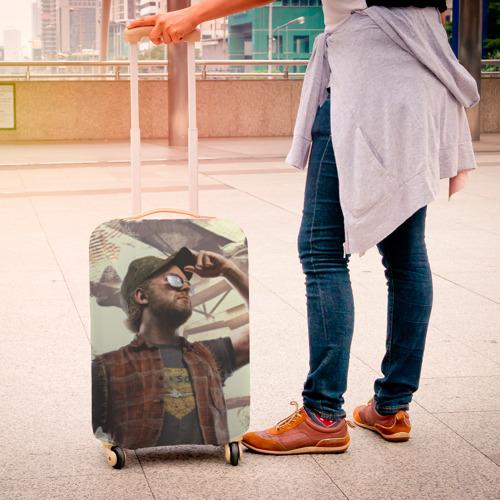 Чехол для чемодана 3D Рэднэк Фото 01
