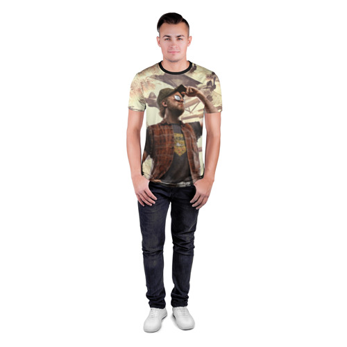 Мужская футболка 3D спортивная  Фото 04, Рэднэк