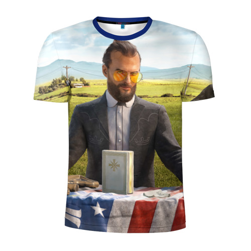 Мужская футболка 3D спортивная  Фото 01, Far Cry 5