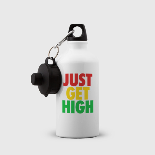 Бутылка спортивная  Фото 03, JUST GET HIGH
