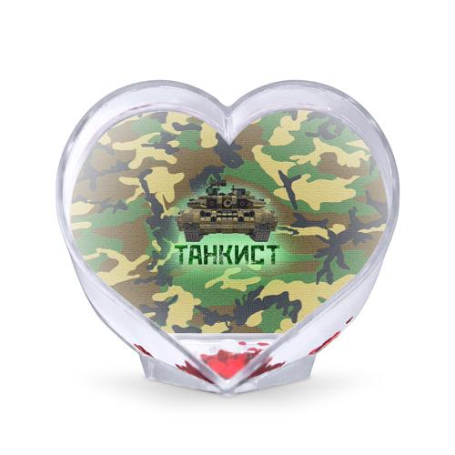 Сувенир Сердце  Фото 01, Танкист (Т-90)
