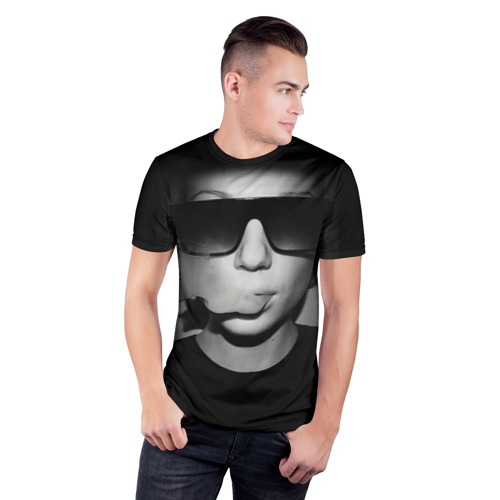 Мужская футболка 3D спортивная  Фото 03, Vape Girl