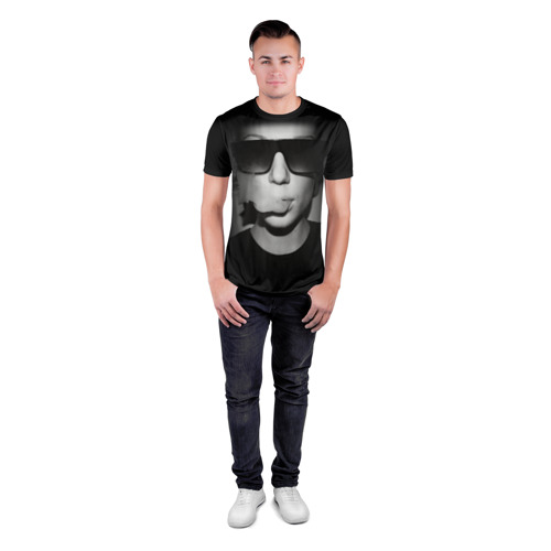 Мужская футболка 3D спортивная  Фото 04, Vape Girl
