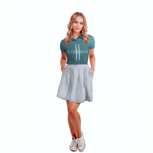 Женская рубашка поло 3D LineAge II Фото 01