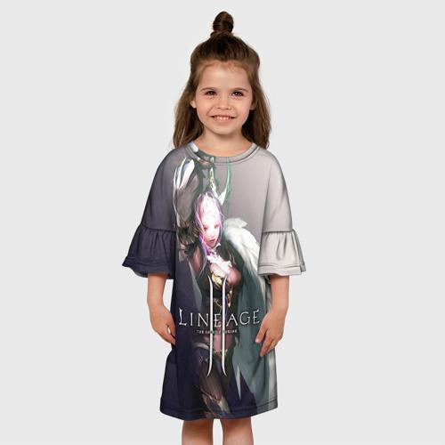 Детское платье 3D  Фото 01, LineAge II 6