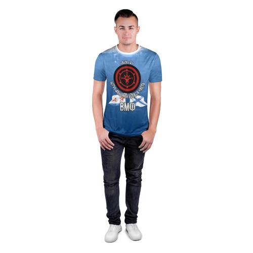 Мужская футболка 3D спортивная  Фото 04, БЧ-1 Штурманская боевая часть