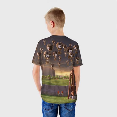 Детская футболка 3D Clash of clans 3 Фото 01