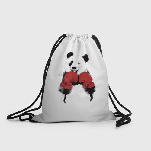 Рюкзак-мешок 3D  Фото 01, Панда боксер