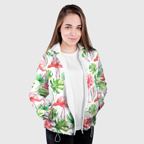 Женская куртка 3D  Фото 04, Розовые