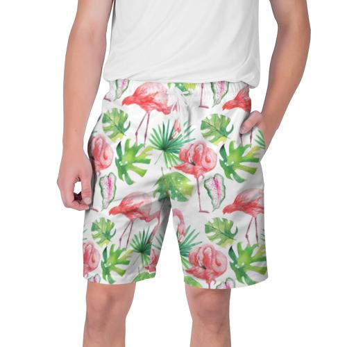 Мужские шорты 3D  Фото 01, Розовые