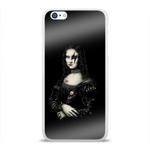Чехол для Apple iPhone 6Plus/6SPlus силиконовый глянцевый  Фото 01, Мона Лиза Kiss