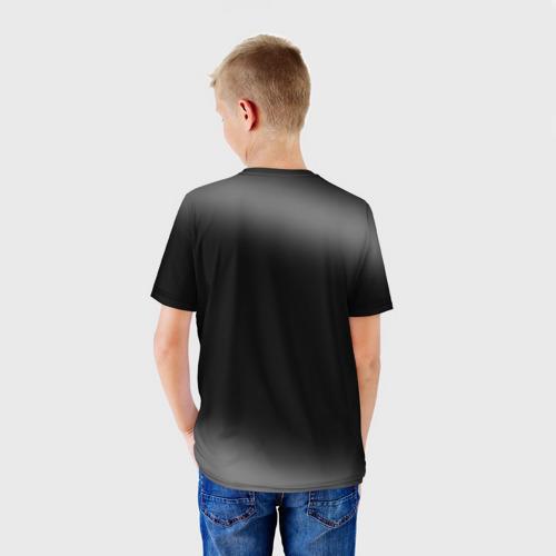 Детская футболка 3D  Фото 02, Мона Лиза Kiss