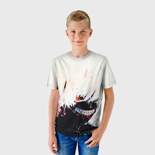 Детская футболка 3D  Фото 01, tokyo ghoul