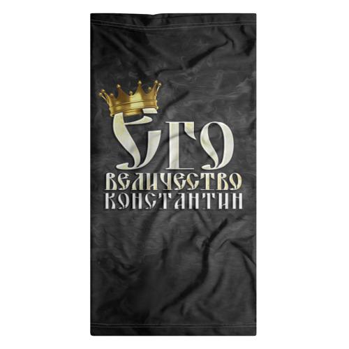Бандана-труба 3D  Фото 07, Его величество Константин