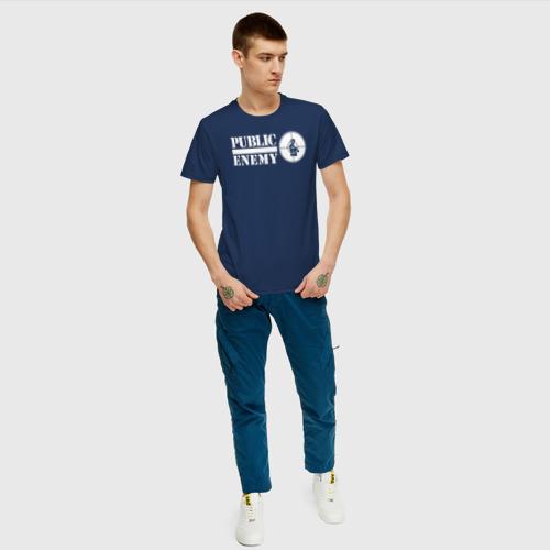 Мужская футболка хлопок Паблик Энеми Фото 01