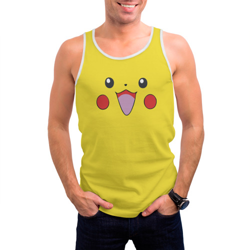 Мужская майка 3D  Фото 03, Pikachu