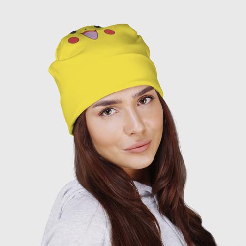 Шапка 3D  Фото 03, Pikachu