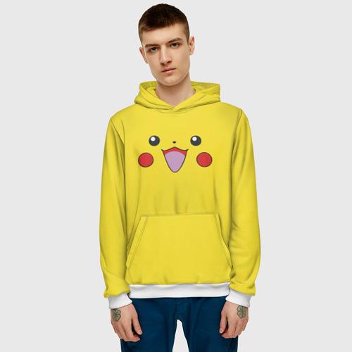 Мужская толстовка 3D  Фото 03, Pikachu