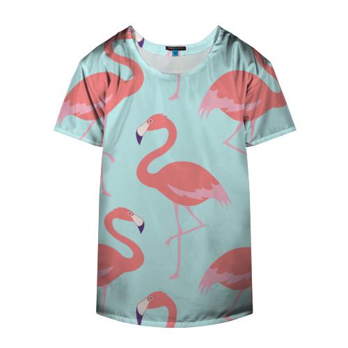 Накидка на куртку 3D  Фото 04, Flamingos pattern