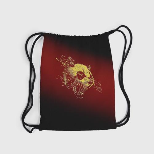 Рюкзак-мешок 3D  Фото 04, Ярость панды