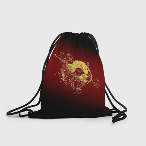 Рюкзак-мешок 3D  Фото 01, Ярость панды