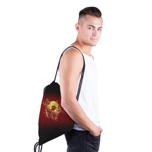 Рюкзак-мешок 3D  Фото 03, Ярость панды