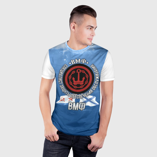 Мужская футболка 3D спортивная  Фото 03, Обеспечение Защита Обслуживани