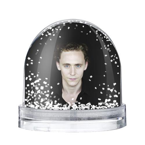 Водяной шар со снегом Том Хиддлстон