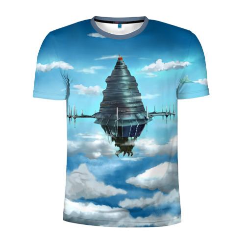 Мужская футболка 3D спортивная  Фото 01, 100 Floors