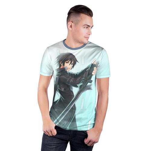 Мужская футболка 3D спортивная  Фото 03, Sword