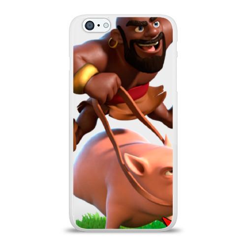 Чехол для Apple iPhone 6Plus/6SPlus силиконовый глянцевый Clash of Clans 9 Фото 01
