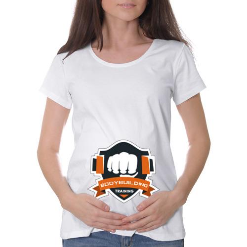 Футболка для беременных хлопок  Фото 01, Bodybuilding